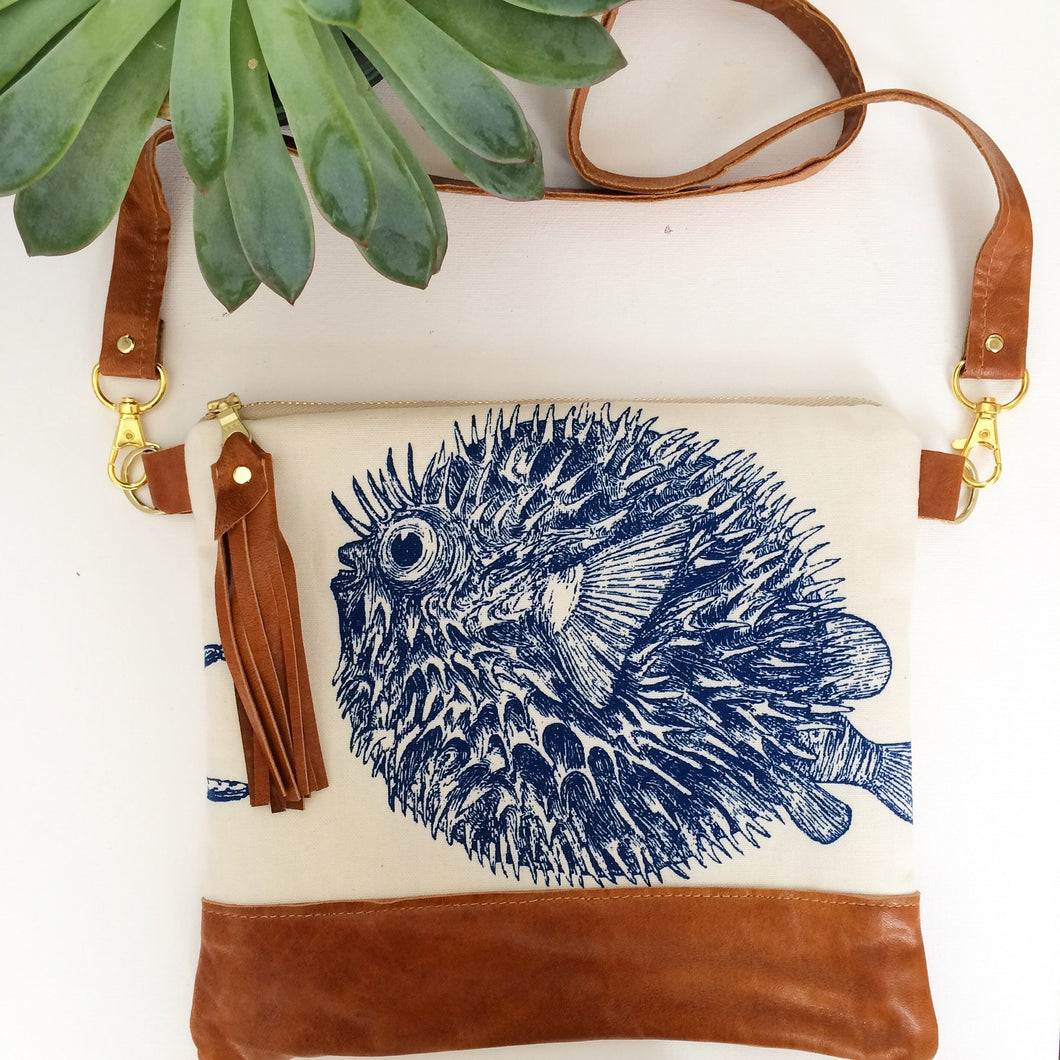Pufferfish crossbody