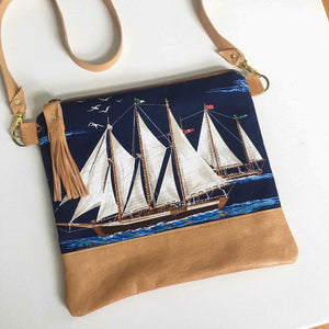 Sailboat crossbody