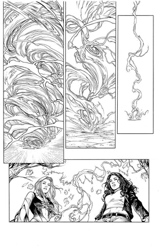 """Ancient Dreams #6"" interior page"
