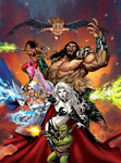 """Lady Death: Hellraiders #1"" Cover"