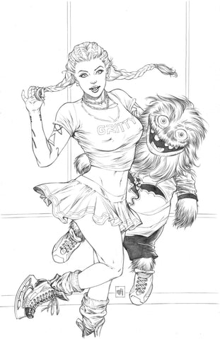 """Gretel #3"" Original Cover Art"