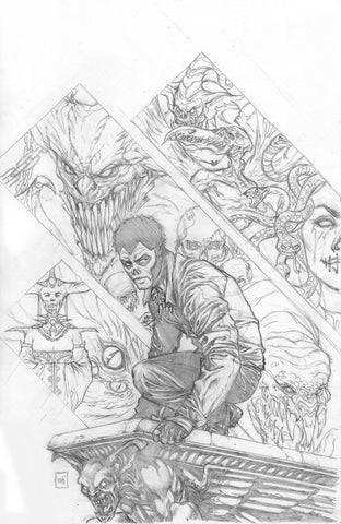 """Shadowman #1"" prelim sketch"