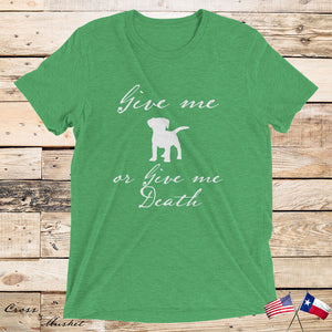 """Give Me Puppies"" - TriBlend T (UNISEX)"