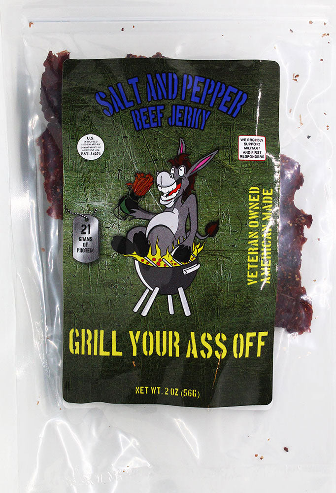 GYAO - Salt and Pepper Flavor Beef Jerky