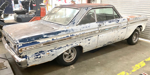 1963 Ford Falcon with rebuilt motor/transmission