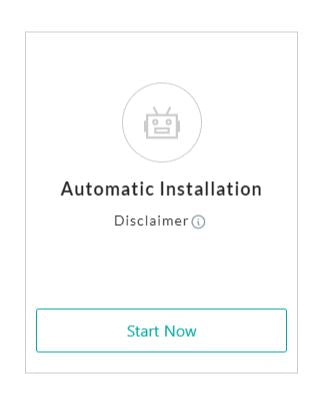Automatic Installation of Infinite Product Options
