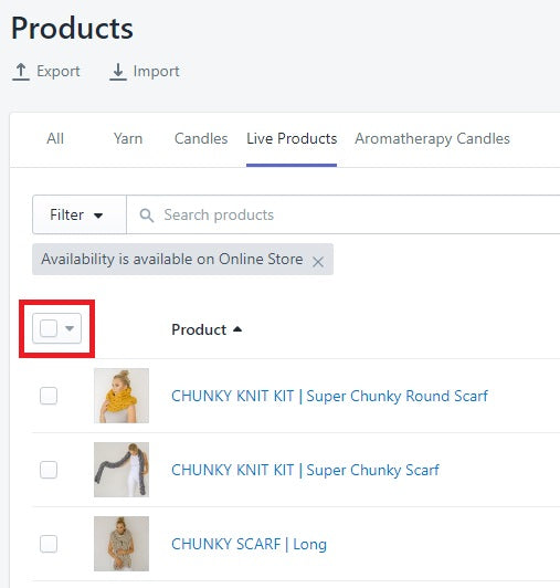 Bulk editing of products on Shopify | Running In Heels Blog
