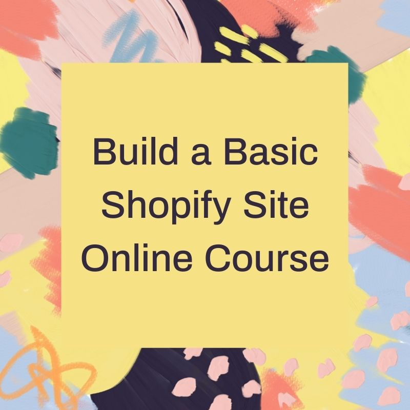 Basic Shopify for a Side Hustle