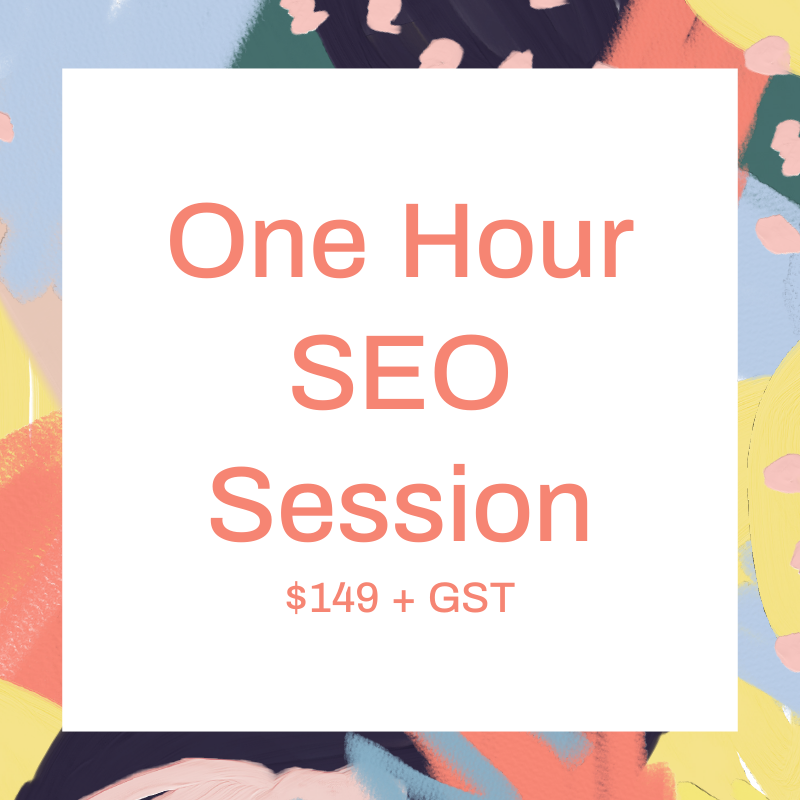 One Hour SEO Training Session