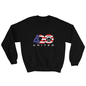 420 UNITED SMOOTH FLAG DESIGN Unisex Sweatshirt