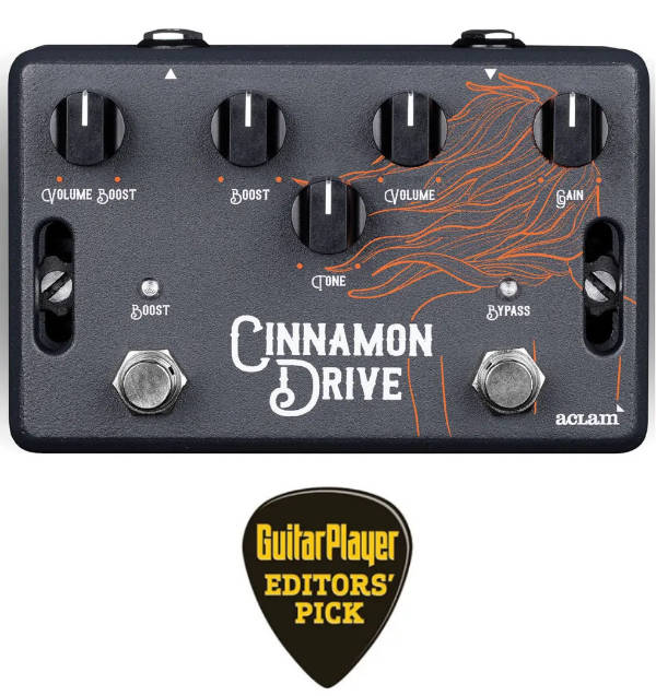 Cinnamon Drive Won Guitar Player Editors Pick Award
