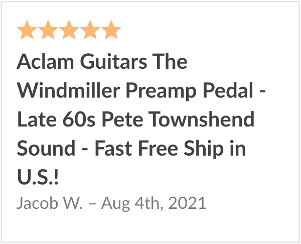 aclam windmiller review