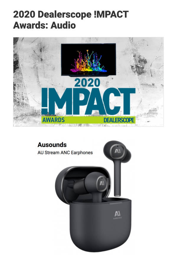 Ausounds AU Stream ANC 2020 Impact Award