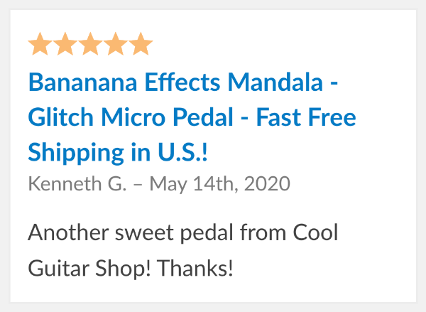 bananana mandala review