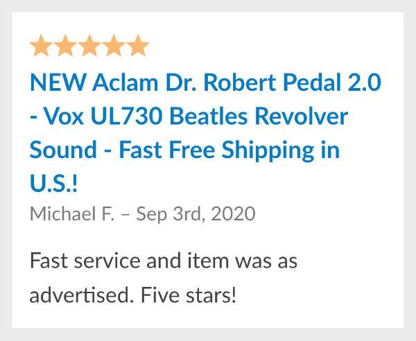 dr robert aclam review