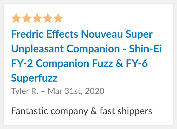 fredric nouveau super unpleasant companion reviews