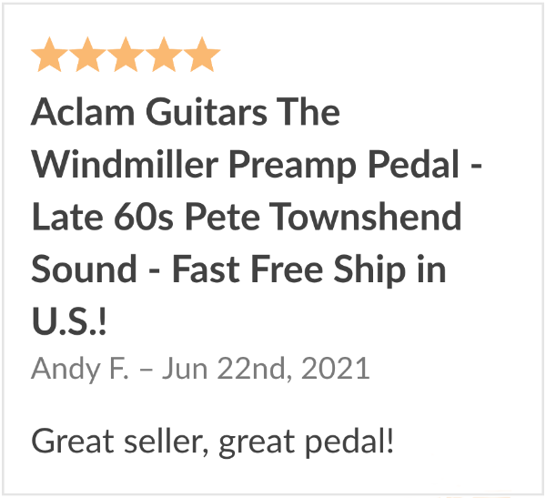 review aclam windmiller overdrive