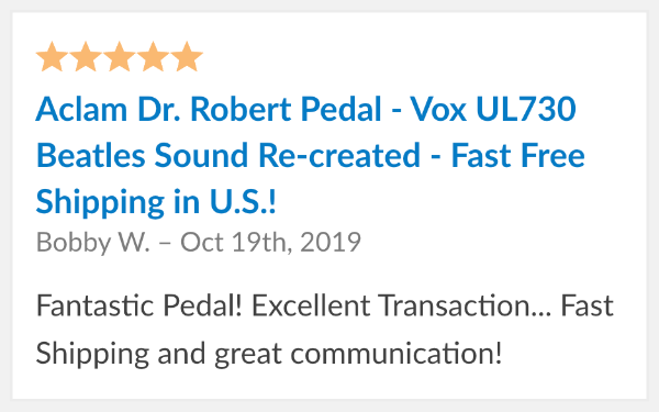 review aclam dr robert pedal