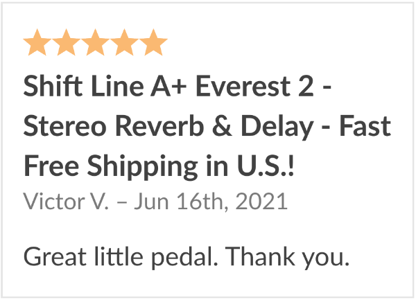 review shift line everest 2 pedal