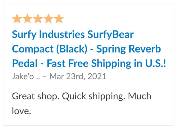 review surfybear compact