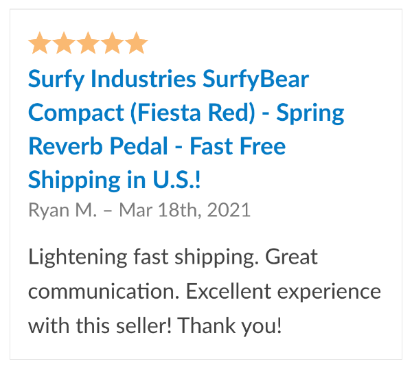 reviews surfybear compact reverb