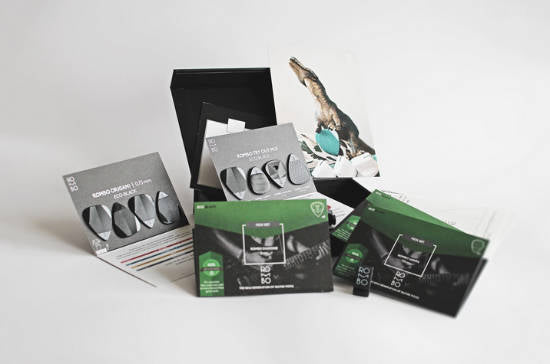 Rombo Guitar Picks Gift Box Eco-Black