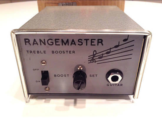 Vintage 1966 Dallas Rangemaster Treble Booster