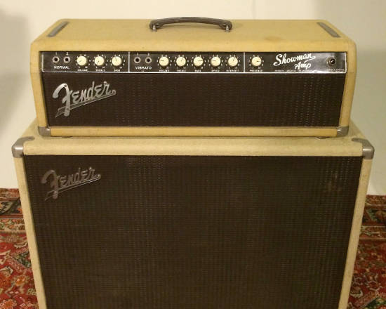 Vintage Fender Showman 1963 Brownface