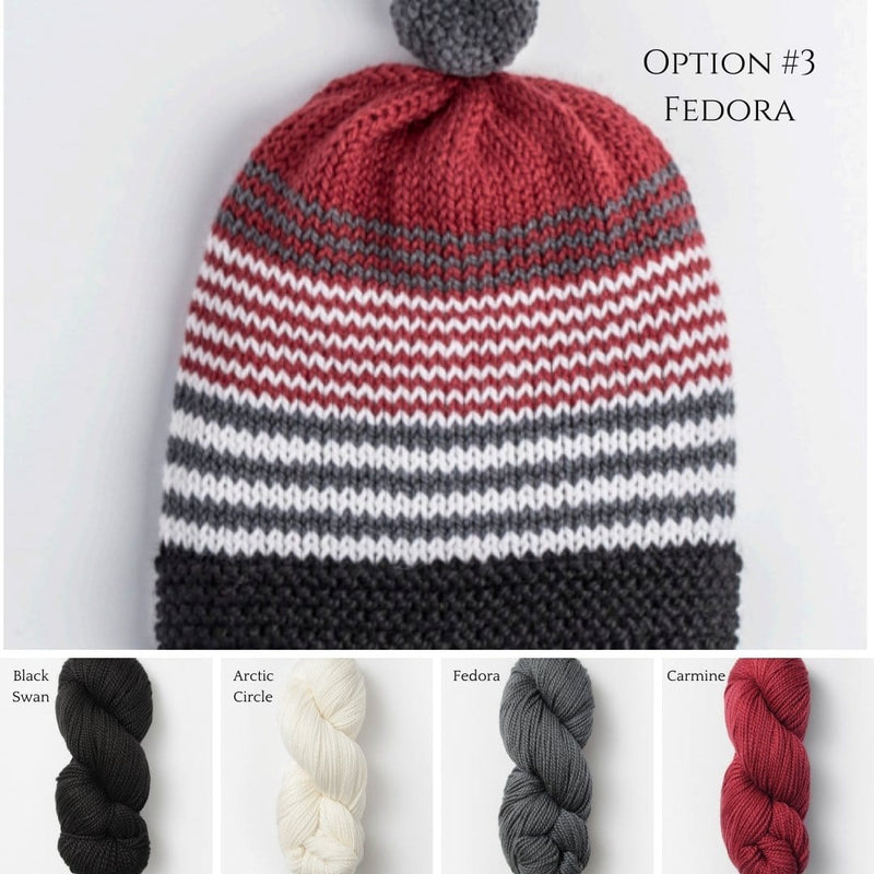 Forest Lake Hat & Cowl Kit