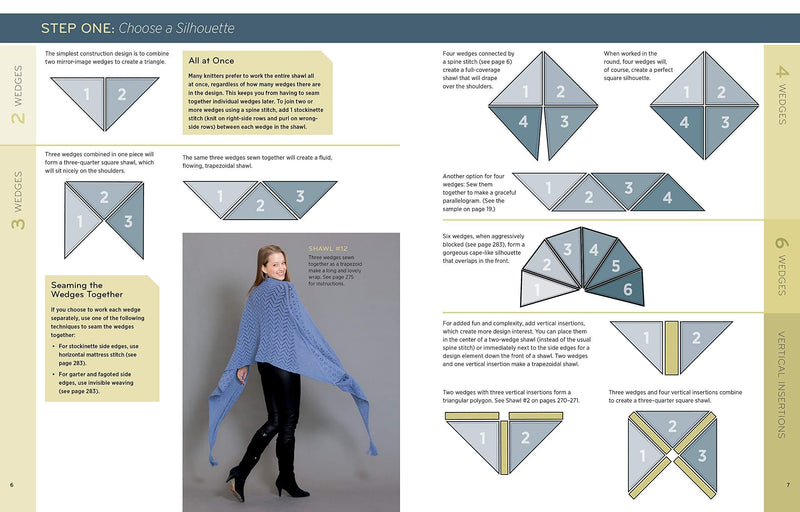 Knitting Modular Shawls, Wraps, and Stoles: An Easy, Innovative Technique for Creating Custom Designs, with 185 Stitch Patterns