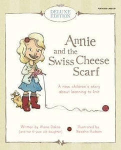 Annie and the Swiss Cheese Scarf (Deluxe Gift Set)
