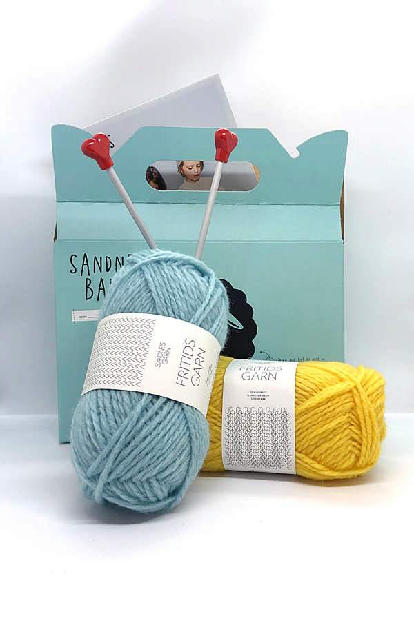Learn to Knit Kit for Kids
