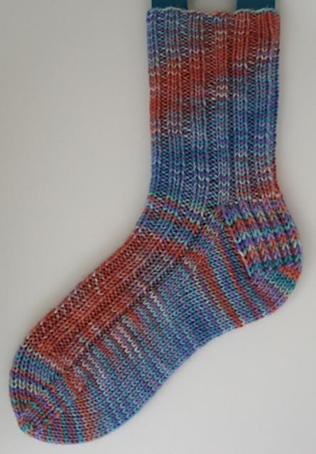 Two-at-a-Time, Top-Down Socks