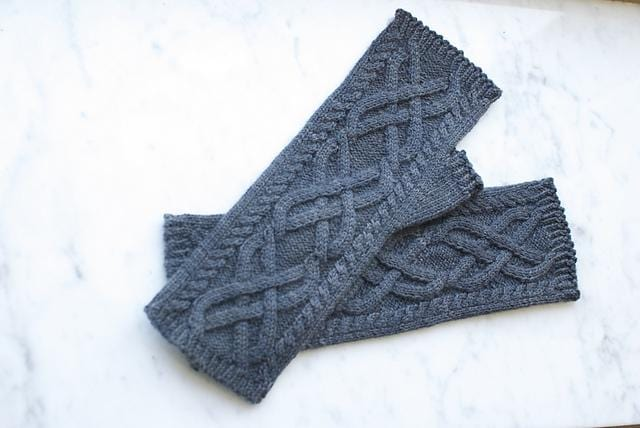 Bailey Island Mitts pattern