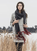 Silver Bay Scarf - Woolstok (Worsted)