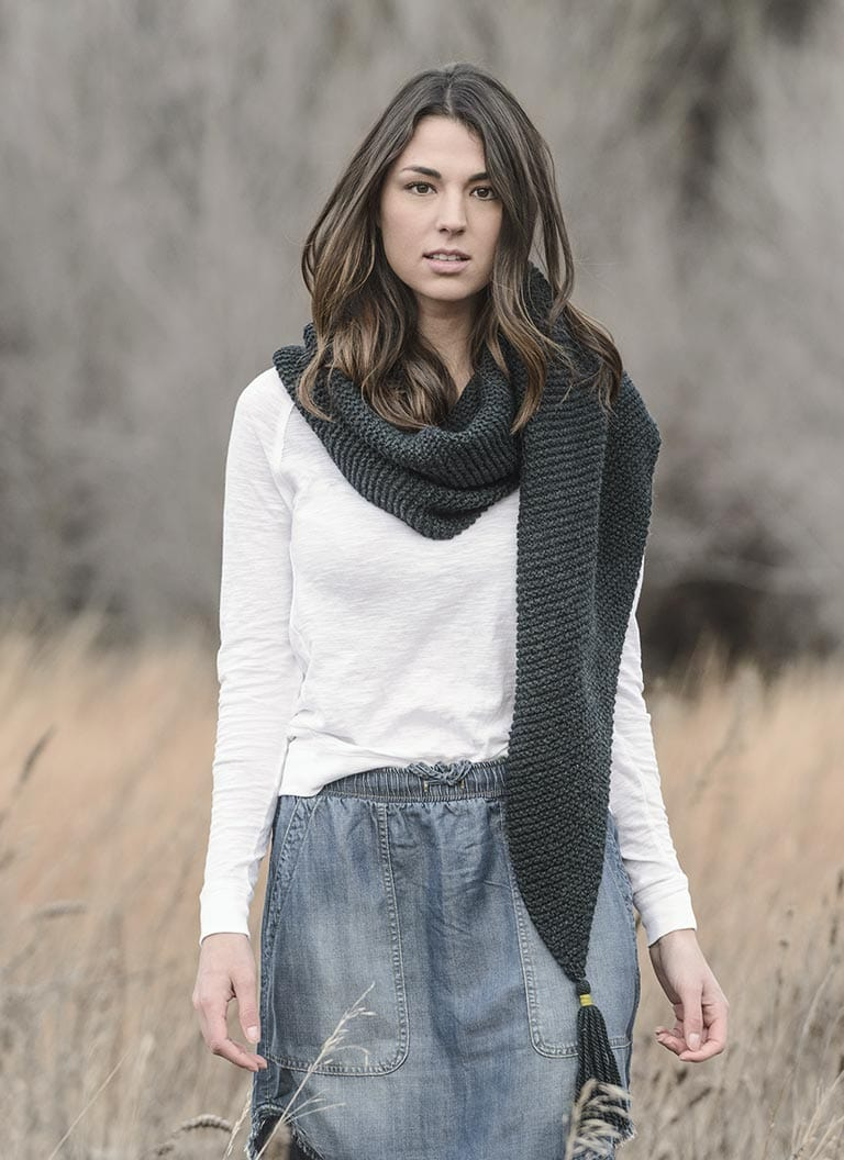 St. Cloud Scarf - Woolstok (Worsted)