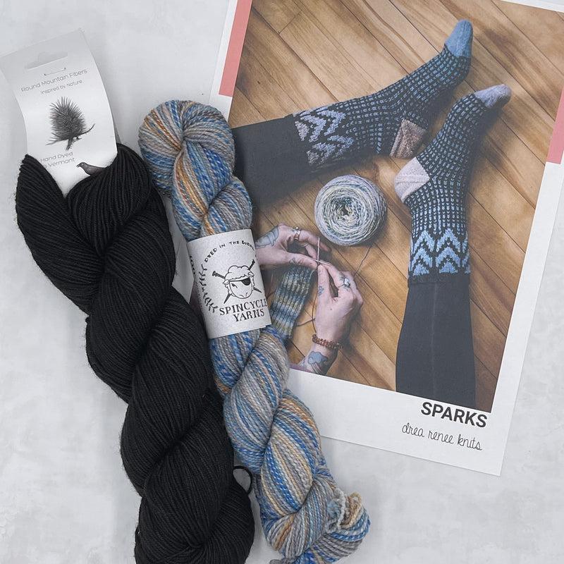 Sparks Socks Project Kit