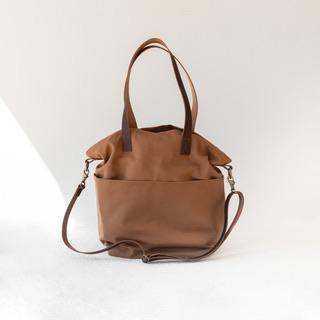 Newly Redesigned Canvas Crossbody Project Tote