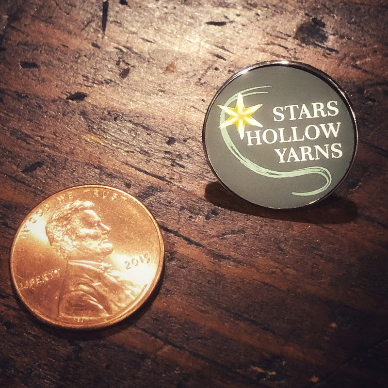 Stars Hollow Yarns Enamel Pin