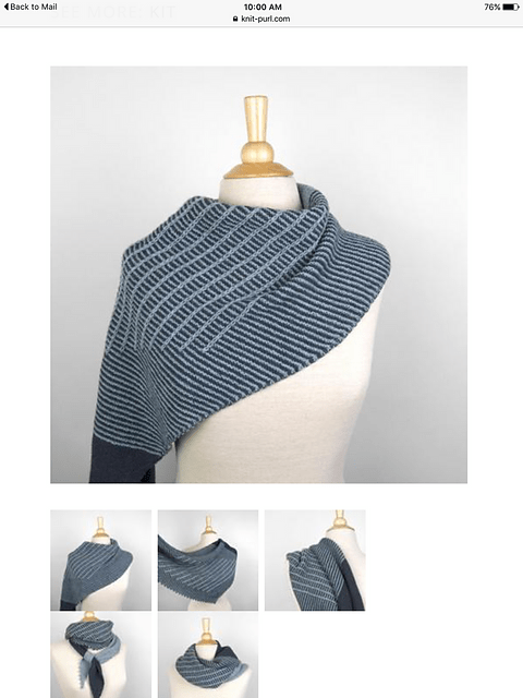 Axis Shawl pattern