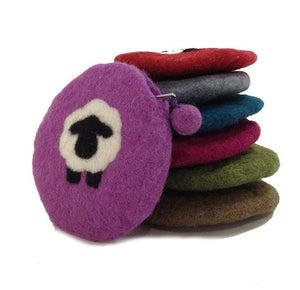 Felt Sheepish Notions Bag