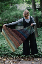 KAL: Nightshift (Shift Shawl)