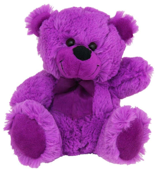 Jelly Bear Bright Purple 23cm