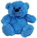 Jelly Bear Bright Blue 23cm