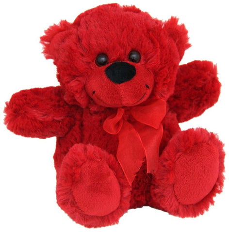 Jelly Bear Bright Red 23cm