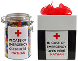 Emergency Personalised Lolly Jar