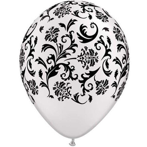 L06a - Latex Damask White