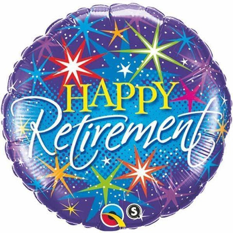 060 Happy Retirement Burst
