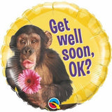 040 Get Well Chimp