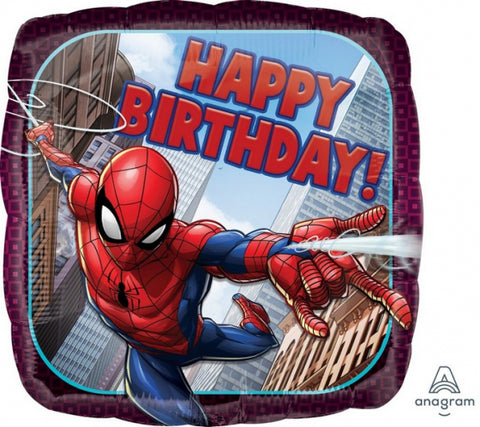 027f Spiderman Birthday